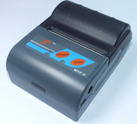 Wholesale Free shopping MTP II mobile printer mini Printer mobile thermal printer Bluetooth printer Serila USB Bluetooth interface all in one