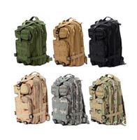 Wholesale Men Women Unisex Outdoor Military Tactical Backpack Camping Hiking Bag Rucksacks
