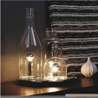 Wholesale Italy ITRE Bacco Table Lamp Lighting Lamp Glass Bottles European Modern Style