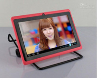 Wholesale Newest Q88 dual Camera inch tablet pc android capactive A13 M G MID Tablet PC wifi with retail packaging