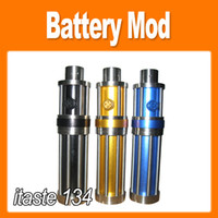 Electronic Cigarette bttery body As picture Itaste 134 Mechanical Mod Bttery Body for EGO Electronic Cigarette CE4 CE5 CE6 VIVI NOVA protank MT3 (0207009)