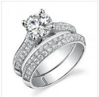 China-Tibet antique platinum band - SI1 G Antique Ct Round Cut Diamond Kt Gold Bridal Ring Set Engagement Band