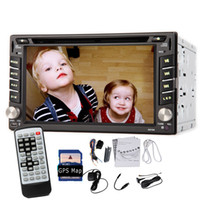 dvd player - 6 quot Double Din Car DVD Player Auto Radio Stereo GPS Nav DVB T ISDB T Digital TV Bluetooth GPS Navigation In Dash head Unit Car DVD iPod
