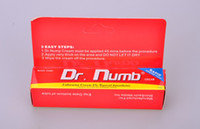 Wholesale Topical anesthetic DR NUMB g Genuine Tattoo Numb Cream Body Piercings Waxing Laser Tattoo Cream