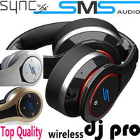 Wholesale SMS New Version Over ear Headphone Street by DJ PRO Earphone Headset with Bluetooth Jaguartee