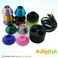 Wholesale Kingfish Electronic Cigarette E Cigarette Accessory ego battery ego charger base metal ego base silicone display ego stand base ecig holder