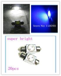 20pcs C5W 31mm 36mm 1LED Festoon Dome Car Light Bulbs 1W Super Bright 12V Car Light Bulbs