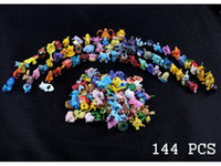 Wholesale 144pcs Pokemon Action Figures Monster Mini Figures Toys in Random