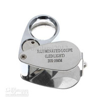 Wholesale Distinctive LED Power X MM Jeweler s Loupe
