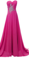 Reference Images Sweetheart Chiffon Stock Lime Green Hot pik Chiffon Prom Dress Bridesmaid Dressesl Formal Evening Dresses Wedding Gowns Size 6-8-10-12-14-16