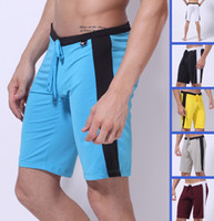 Wholesale 6PCS High Quality Soft Comfy Sexy Mens Sports Running Shorts Underwear GYM Casual Home Jogging Rope Low Rise Enhance Pouch Underpants S M L