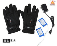 Wholesale Chargeable Adults Electric Heated Leather Gloves