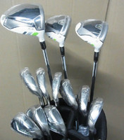 Wholesale 12pcs Golf R B Z Driver Fairway Wood Golf Irons Golf Clubs Complete Set With Headcover