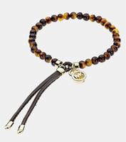 Leather amber stretch bracelet - 5 off Stretch bracelet beaded bracelet Amber gemstone bead bracelet Charm bracelets bracelets XJ