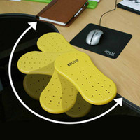 Plastic arm pads for chairs - Computer Arm Support Rest Chair Desk Armrest Ergonomic Mouse Pad Rest amp Play