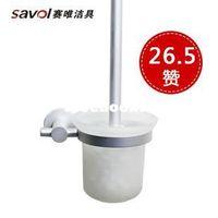 Stainless Steel sanitary ware - Sanitary ware space aluminum series toilet brush toilet brush toilet sanitary ware toilet tools