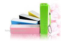 Wholesale Colorful mAh Portable Emergency External Cell Phone Perfume Power Bank Battery Charger Pack for iPhone Samsung HTC Read Description