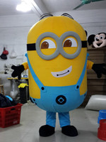 Wholesale Brand New Despicable Me Minion Cartoon Mascot Costume Adult Cartoon Character Costumes mascot costume