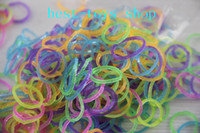 5-7 Years band of horses - Loom Brands Refill Bands Pack of Glitter Rubber Bands with S clips