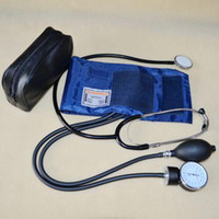 Wholesale 2013 new Blood Pressure Cuff Stethoscope Sphygmomanometer Kit NEW