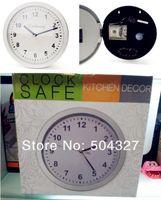 Wholesale EMS Pieces Hidden Safe Wall Clock Working Wall Clock Safe