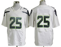 Football Men Short 2013 Mens Elite Jersey American White #25 Sherman Football Jerseys Mens Sportwear Football Uniform Sport Sweatshirts