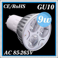 Wholesale 1PCS High power CREE GU10 E27 E14 MR16 GU5 LED W W W Light lamp Bulb LED Downlight Warm Cool White