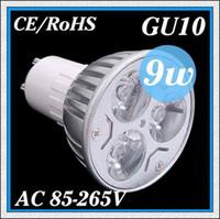 Wholesale 10PCS High power CREE GU10 E27 E14 MR16 GU5 LED W W W Light lamp Bulb LED Downlight Warm Cool White