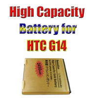 Wholesale Best Price Golden High Capacity Replacement Battery For HTC Sensation HTC G14 S560 mAh Battery waitingyou