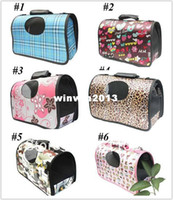 airline crate - colors New Pet Dog Cat Travel Carrier Tote Bag Crate Airline Fet Products Comfort S M L