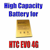 Wholesale 2013 High Capacity Golden Replacement Battery For HTC EVO G mAh waitingyou