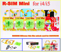 Original R- SIM Mini RSIM Mini Unlock Sim Card 0. 2mm for iPho...