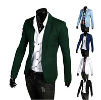 Wholesale 2014 fashion New men jacket Korean business casual slim fit jackets Men s clothing for spring autumn blazers suits coat