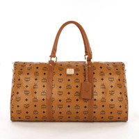 Wholesale MCM Duffel Bags MCM Black Travel Bag colours new styles mcm bags hot selling high quality bolsas clutch Totes