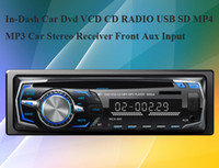 1 DIN Universal In-Dash DVD Player 0 In-Dash Car Dvd Vcd Cd Radio Front Aux Input Car Stereo Receiver I895