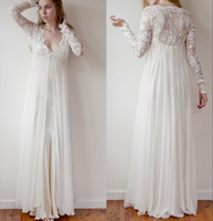 Empire Reference Images Spaghetti Noble 2014 sheer long sleeve lace jacket A line beach Wedding Dresses sexy charming bridal gown Christmas 2013 free shipping high quality