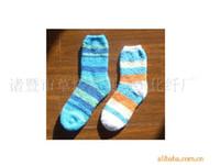 Foot Cover Men Spot Thick warm winter paragraph feather yarn half of cashmere socks floor socks women socks children socks Yiwu
