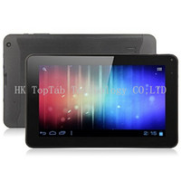 Wholesale 2014 NEW Inch A23 Dual Core Tablet PC With Android Allwinner A23 Ghz MB RAM GB WIFI Dual Camera MID