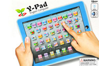 Wholesale Neverland Children Kids First Educational Toy Y pad Tablet Computer Learning Computer