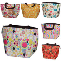 Wholesale Oxford Lunch Portable Bag Insulated Cooler Ice Bag Drink Fruit Pouch Food Keep Warm Handbag Style Choose ZGT