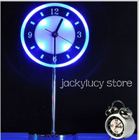 Round No No New Arrival 2 IN 1 Fashion LED Clock Table Lamp Night Light for Home Bedroom Decoration