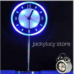 New Arrival 2 IN 1 Fashion LED Clock Table Lamp Night Light for Home Bedroom Decoration