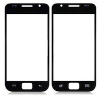 For Samsung Touch Screen white and black For Samsung I9000 Front Outer Touch Screen Glass Samsung Galaxy S1 i9000 front lens cover Panel Black white Color 50pcs lot