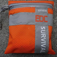 Wholesale Waterproof pouch wilderness survival kits military fans rafting equipment bags EDCGEAR BG survival series