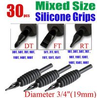 Wholesale solong tattoo x Disposable Tattoo Grips Tube Assorted Mixed Size for Needle Ink Kit quot mm