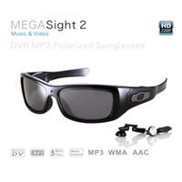 dvr mp3 sunglasses - Music glasses GB undetectable lens spy sunglasses Mega pixels HD DVR Sunglasses with MP3 player Web Camera Function