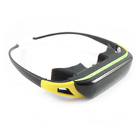 Wholesale 3D Stereo Portable Eyewear inch wide screen P HD video glasses mobile cinema Virtual Theatre