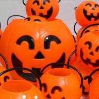 Halloween   Wholesale - Pumpkin Lights Bar Decoration Halloween Party Supplies Paper Pumpkin Lamp Jack-O'-Lantern 033