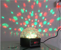 Wholesale DMX512 Disco DJ Stage Lighting Digital LED RGB Crystal Ball US plug EU plug UK Plug