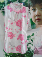 Girl 1-2T  baby girl china Cheongsam baby dress party dress new design
